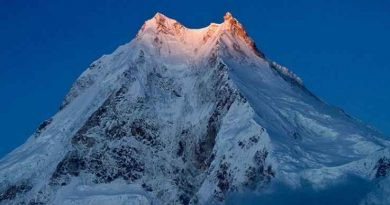 Mount Manaslu Peak View
