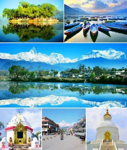Pokhara Views -Mountain, Lakes, Temples, Gumbas, Boats