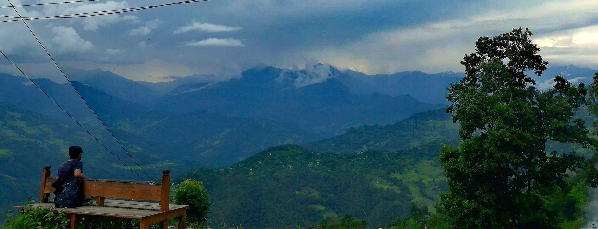 Natural View In Sankhuwasabha Nepal