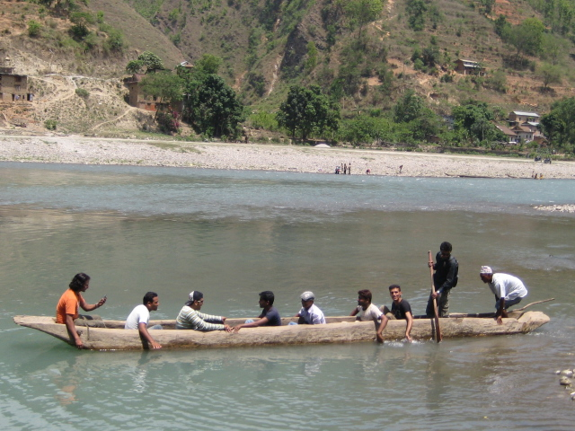 Boating In Sun Koshi Dolalghat