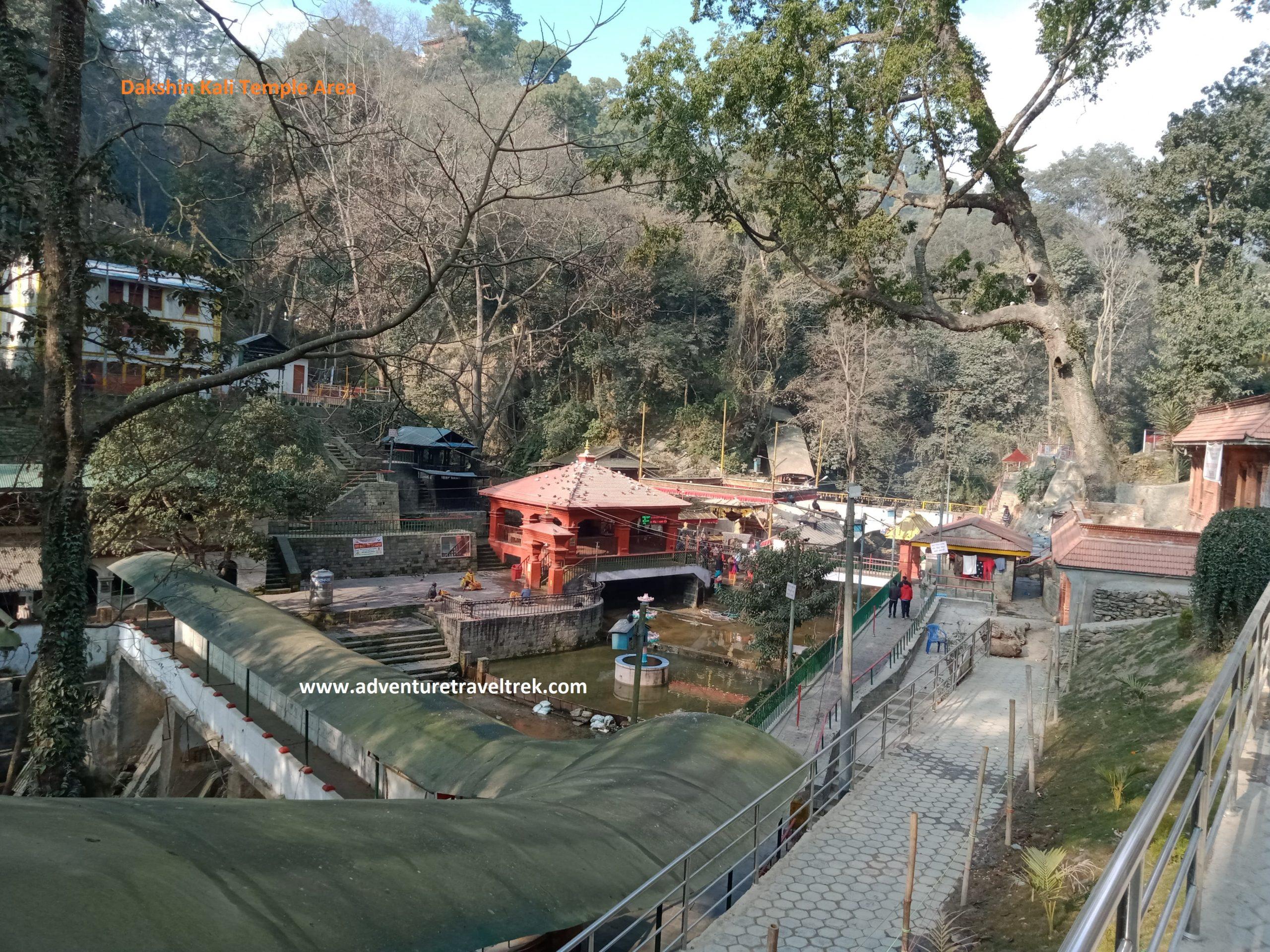 Dakshin Kali Temple Area