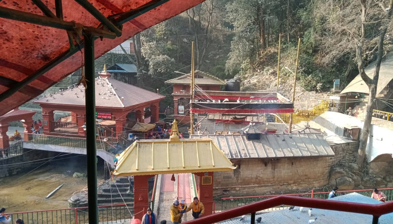Dakshin Kali Temple From Main Gate