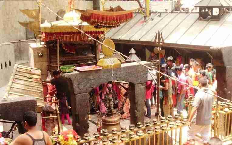 Dakshin Kali Temple Inside