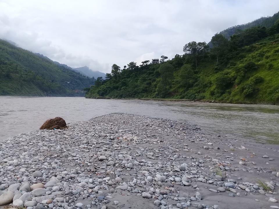 Indravati River Meets Sun Koshi River