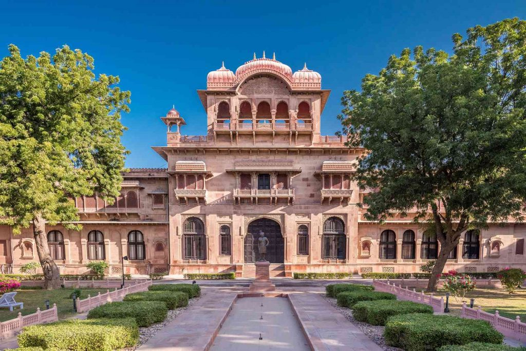 Lalgarh Palace in Bikaner