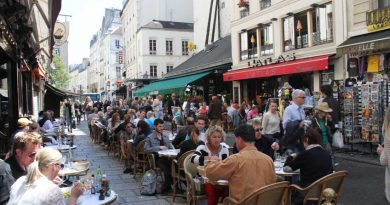 Saint Germain Area in Paris