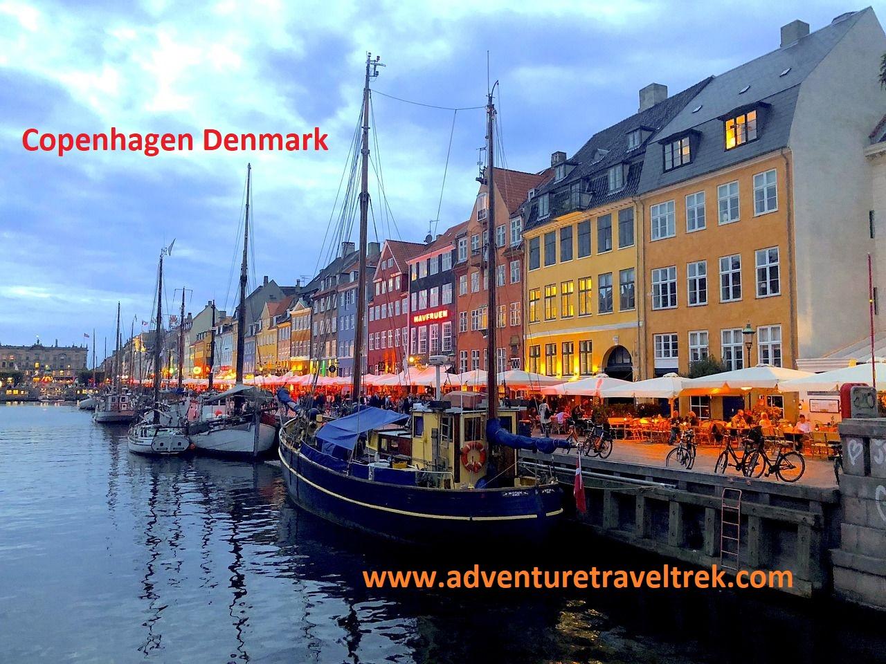 Copenhagen City in Denmark Europe