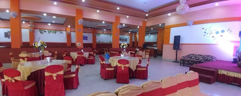 Inside view of Kupondole Banquet Hall