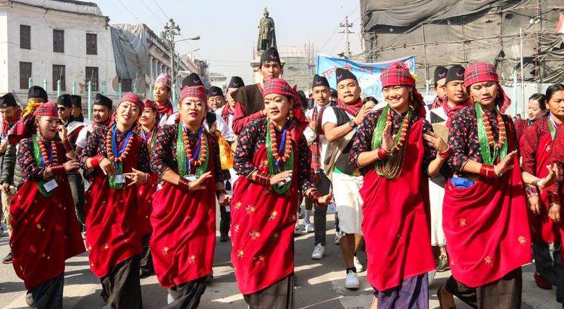 Lhosar festival in Nepal