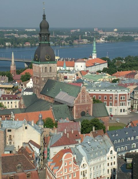 Riga city of Latvia