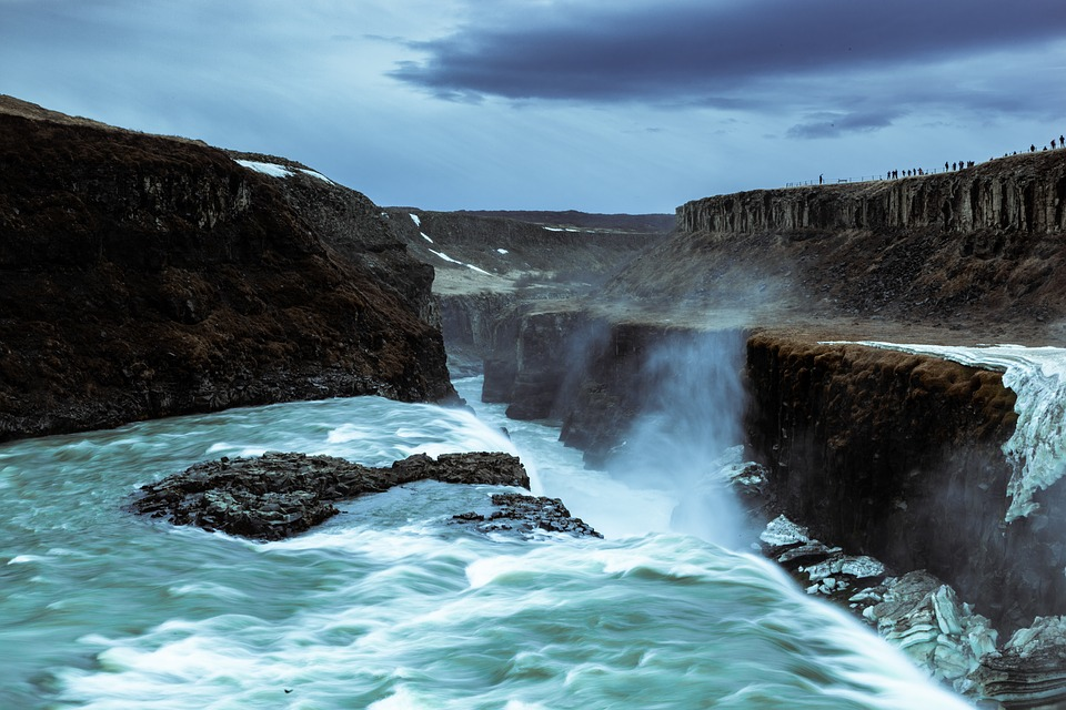 Gullfoss The top rated place to visit in Iceland