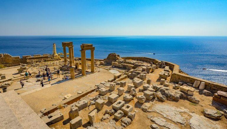 Lindos Greek Temple