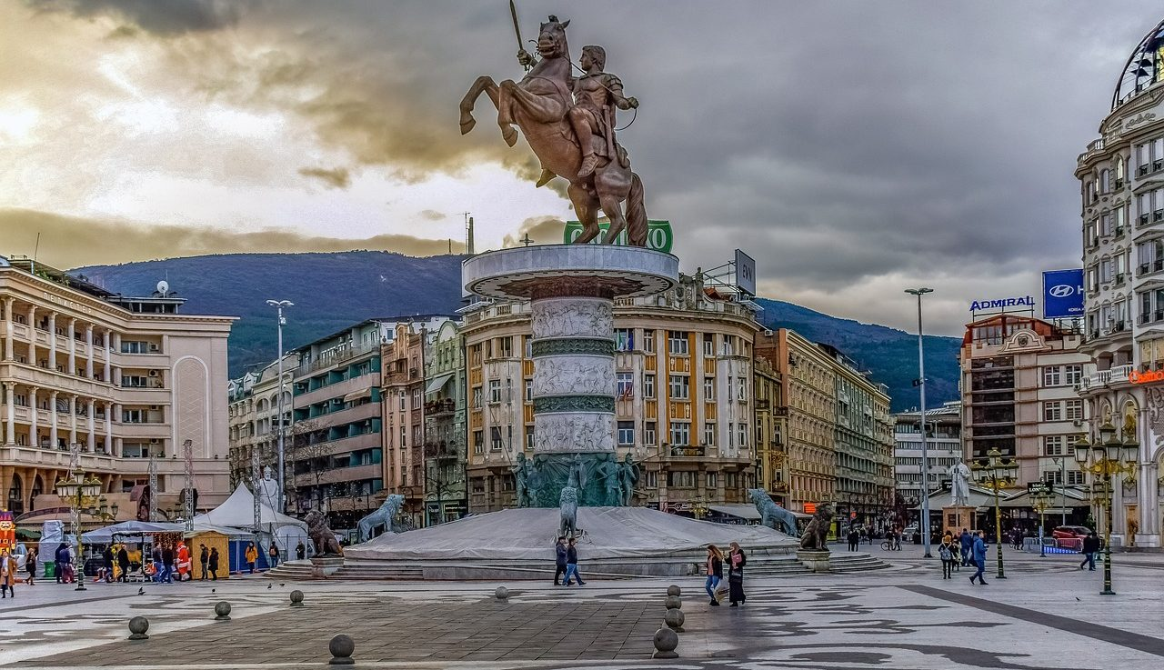 Skopje City North Macedonia
