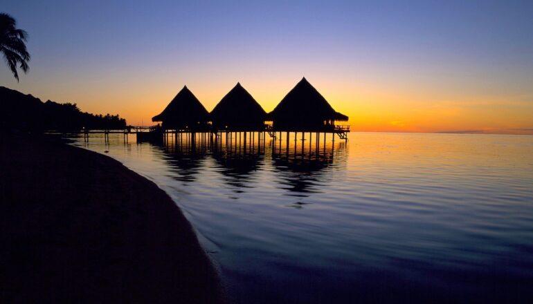 Tahiti Sunset View