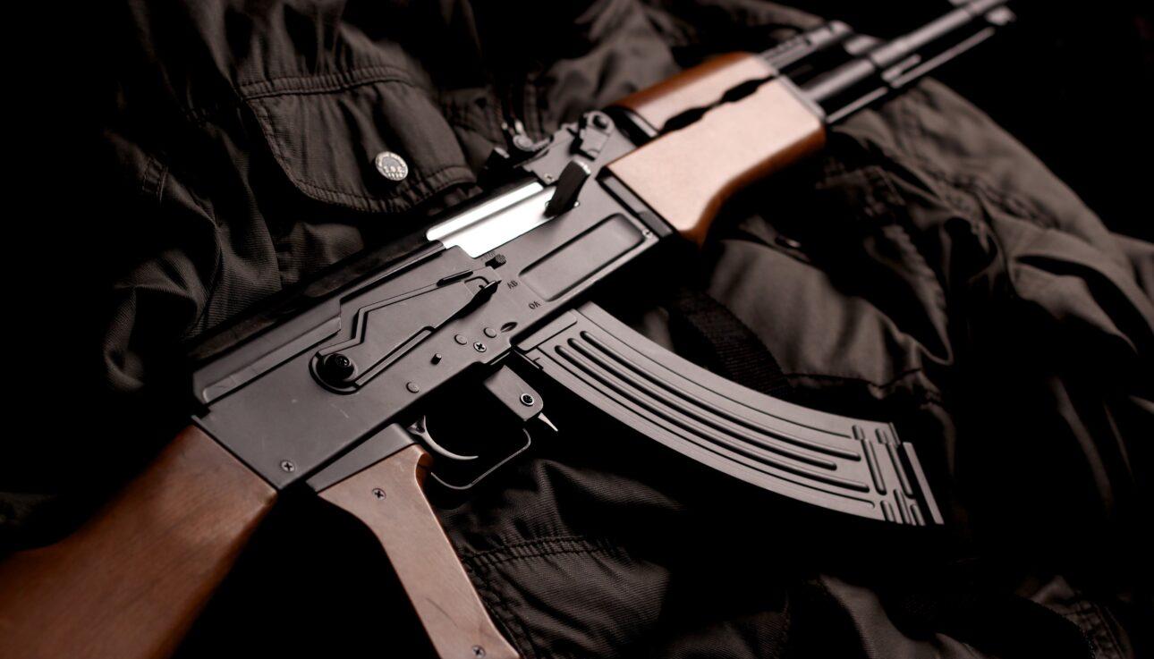Gun for shooting sports activities